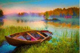 New Rowboat - Artwork from Printism