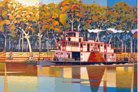 Paddle Steamer 4