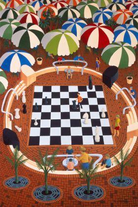 Chessboard, Cavill Square