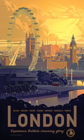 London poster art from Printism