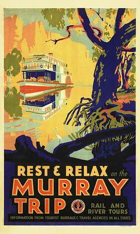 Murray_Trip Vintage poster
