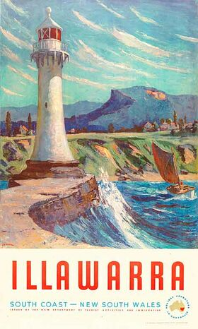 Illawarra Vintage poster
