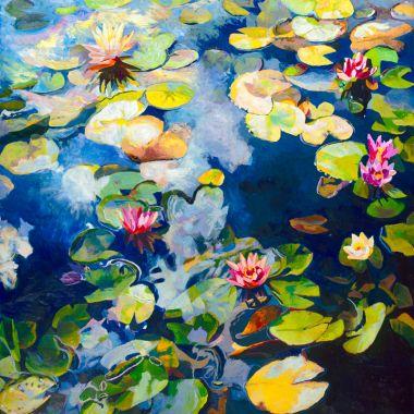 Blue Lily Pond